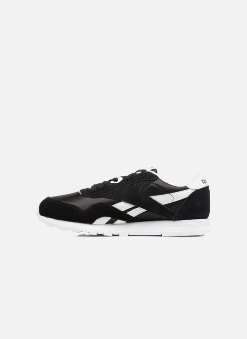 Sneakers Reebok Cl Nylon J Nero immagine frontale