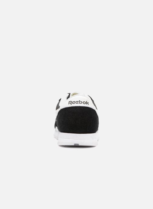 Sneakers Reebok Cl Nylon J Nero immagine destra