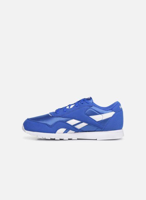 Sneakers Reebok Cl Nylon J Blauw voorkant
