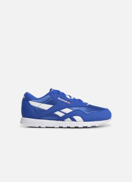Sneakers Reebok Cl Nylon J Blauw achterkant