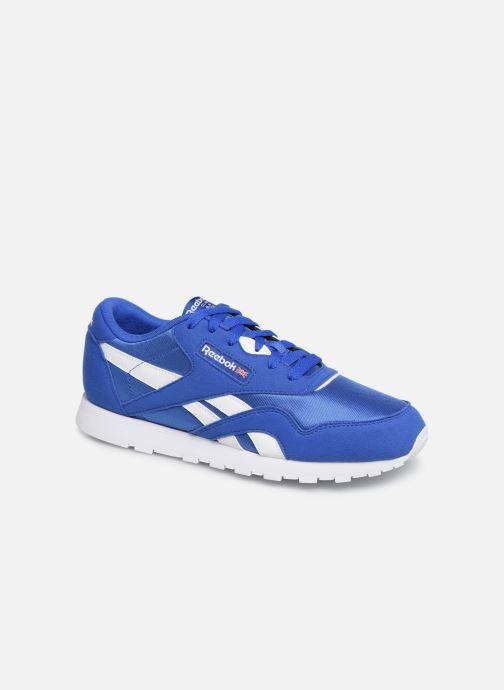 Sneakers Reebok Cl Nylon J Blauw detail