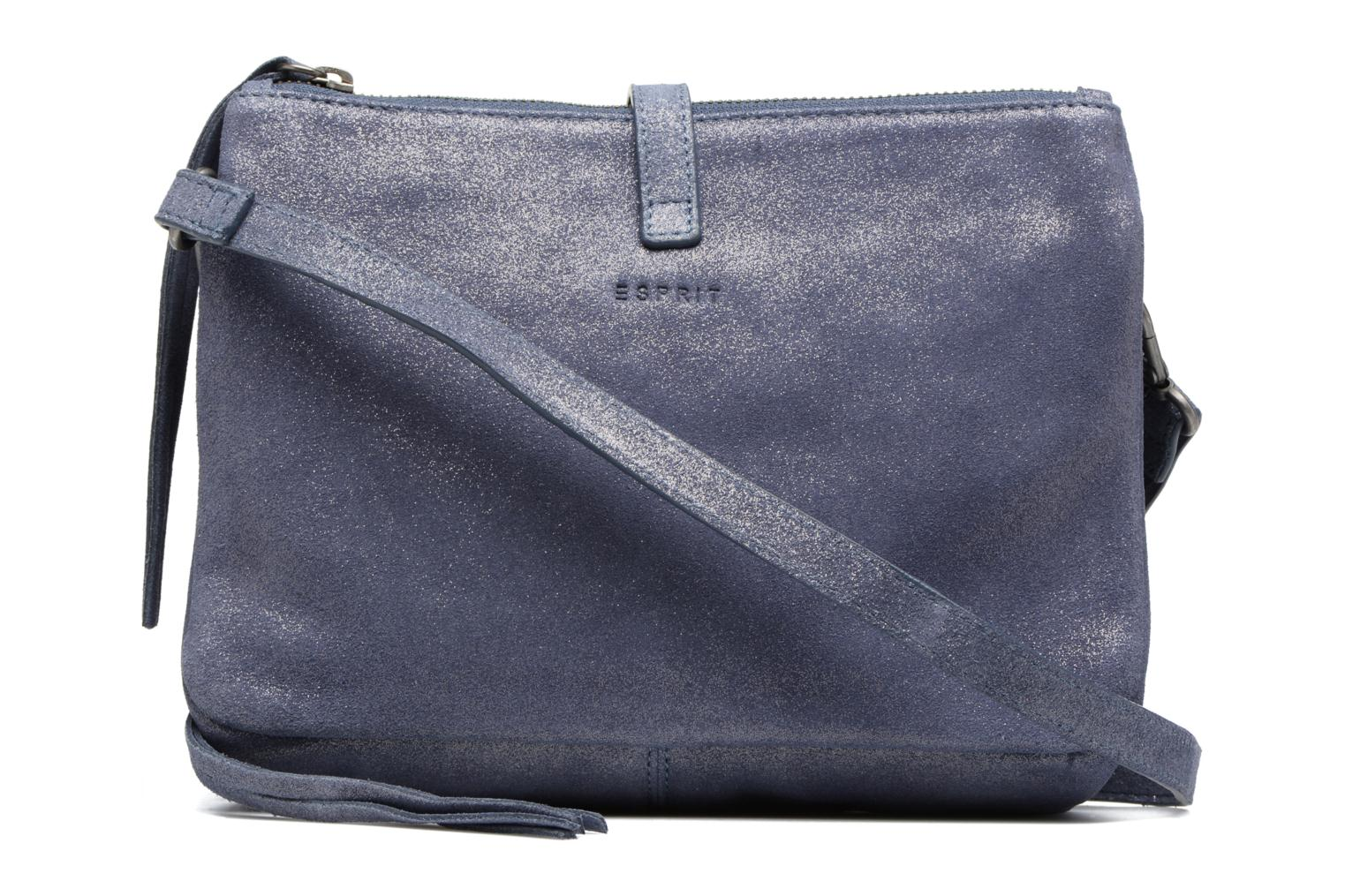 Sacs à main Esprit Venus Leather Shoulder bag Bleu vue face