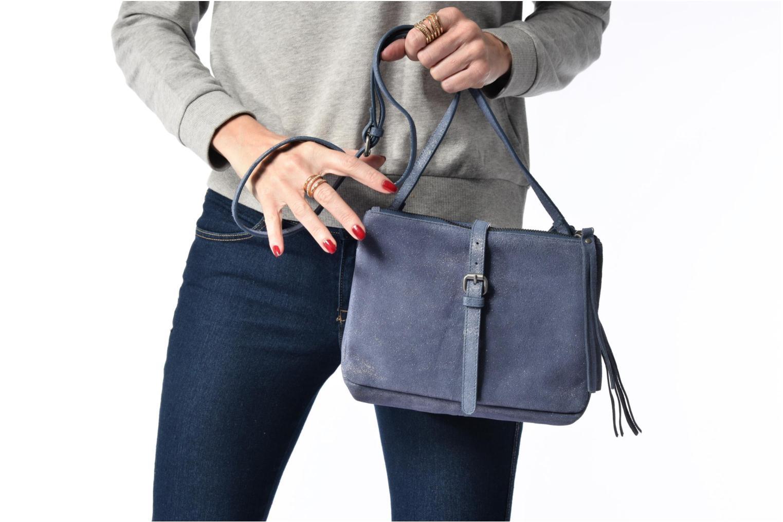 bag Venus blue Leather Shoulder Grey Esprit AtxUn6ZdqU