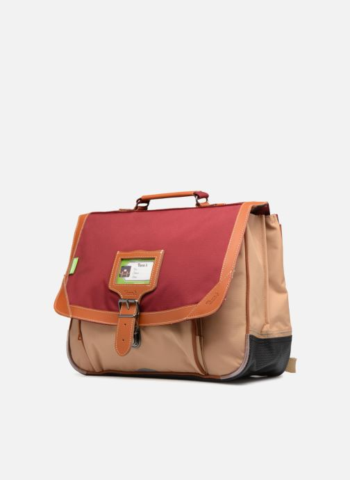 School bags Tann's Cartable 38cm Iconic Red model view