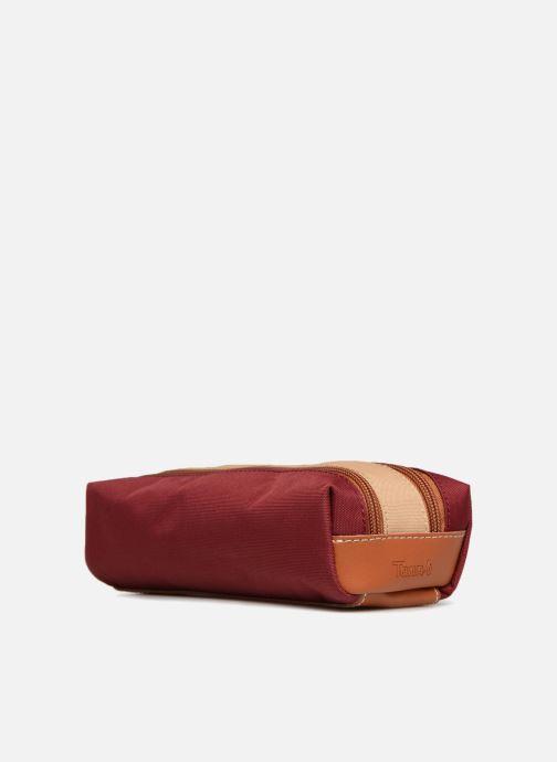 Scolaire Tann's Trousse double Iconic Rouge vue portées chaussures