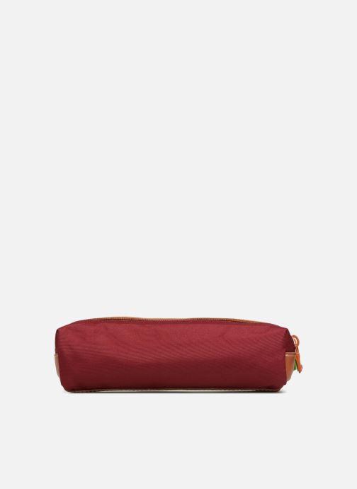 Scolaire Tann's Trousse double Iconic Rouge vue face