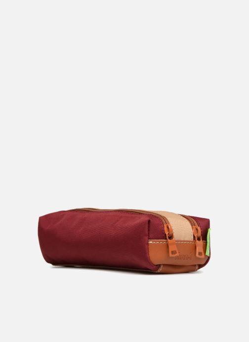 Scolaire Tann's Trousse double Iconic Rouge vue droite