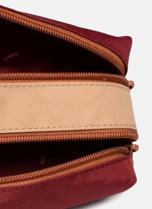 Scolaire Tann's Trousse double Iconic Rouge vue derrière