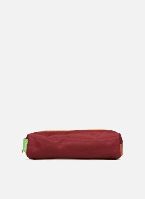 Scolaire Tann's Trousse double Iconic Rouge vue détail/paire
