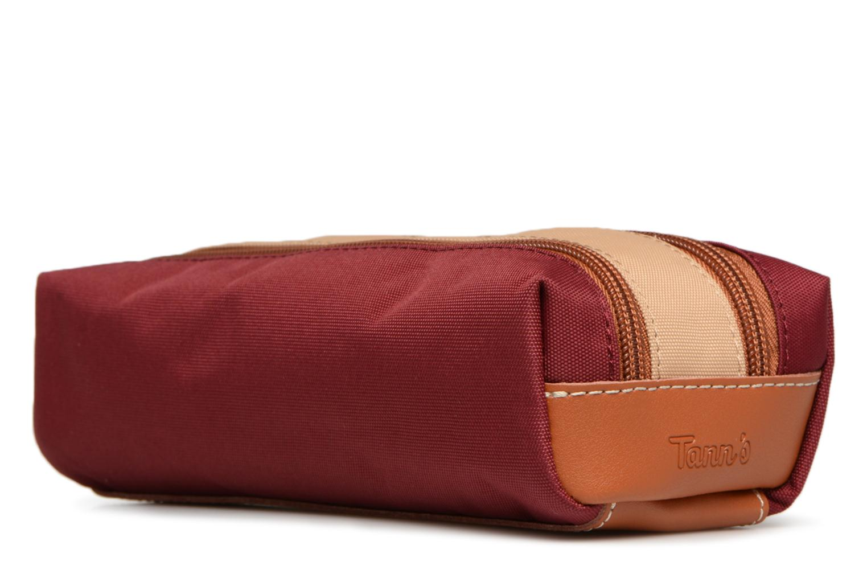 Iconic Trousse Grenat Sable double Tann's EYq4SwTx