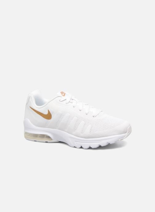 the latest c5e8f d79c6 Baskets Nike Nike Air Max Invigor (Gs) Blanc vue détail paire