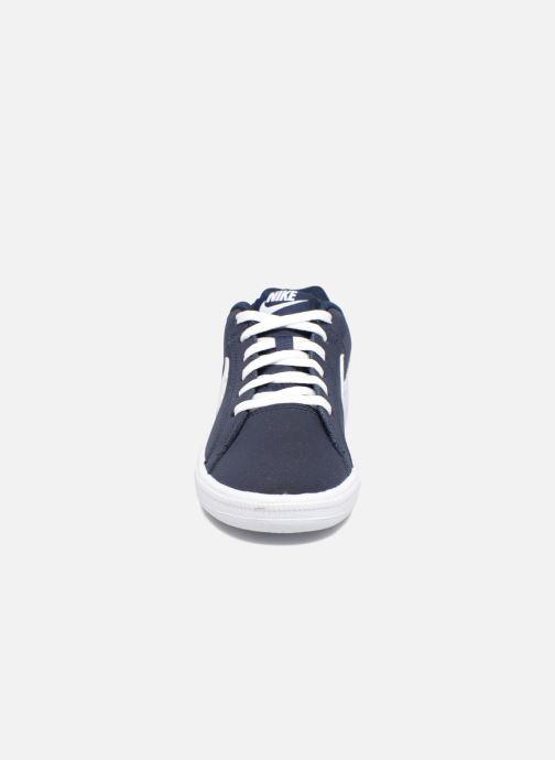 Deportivas Nike Nike Court Royale (Gs) Azul vista del modelo