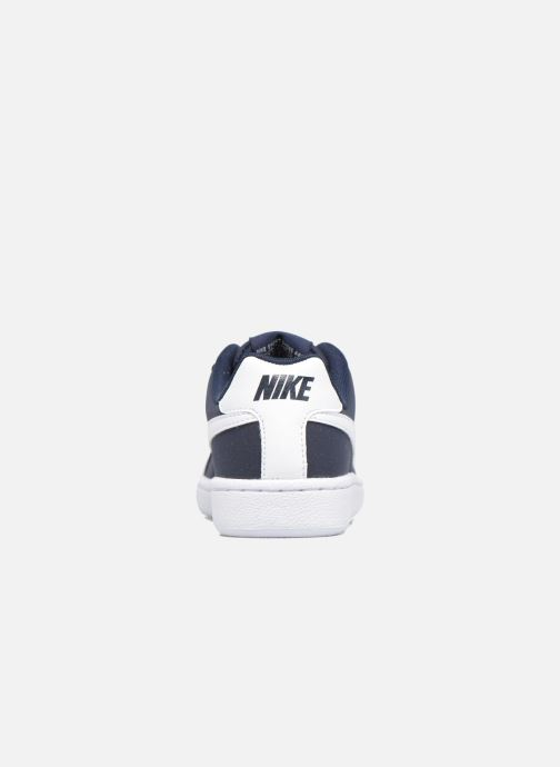 Trainers Nike Nike Court Royale (Gs) Blue view from the right