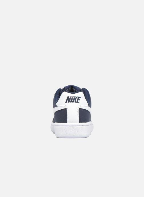 Deportivas Nike Nike Court Royale (Gs) Azul vista lateral derecha