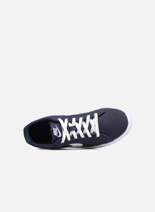 Baskets Nike Nike Court Royale (Gs) Bleu vue gauche