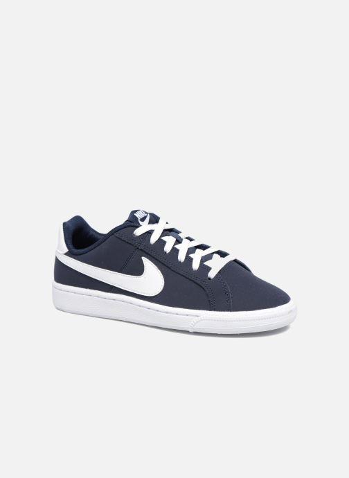new style be6dd df23d Baskets Nike Nike Court Royale (Gs) Bleu vue détailpaire