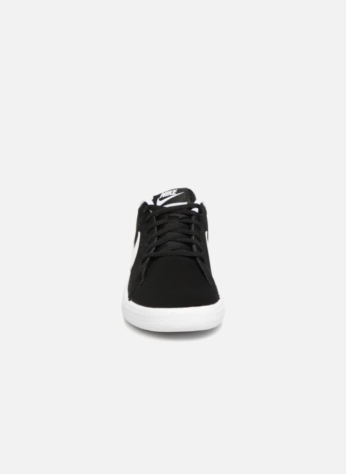 Trainers Nike Nike Court Royale (Gs) Black model view
