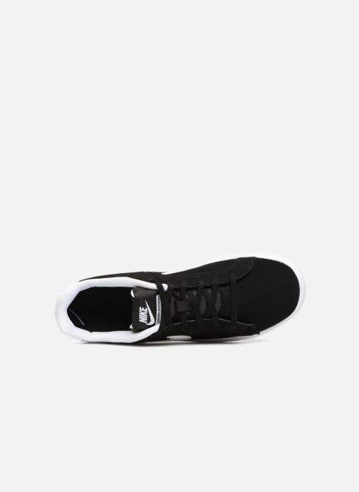 Trainers Nike Nike Court Royale (Gs) Black view from the left