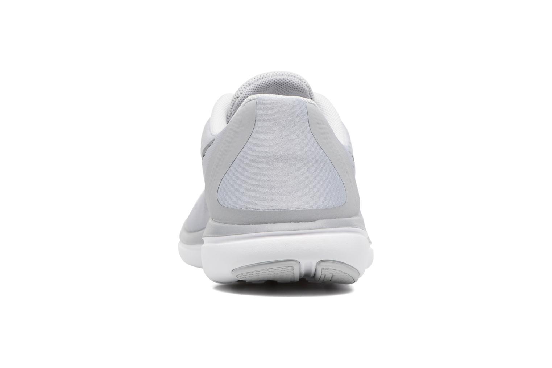 Chaussures de sport Nike Nike Flex 2017 Rn (Gs) Gris vue droite
