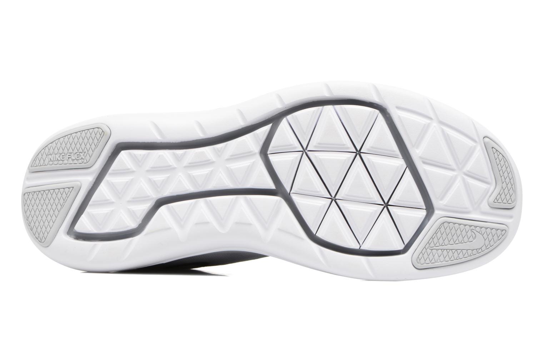 Chaussures de sport Nike Nike Flex 2017 Rn (Gs) Gris vue haut