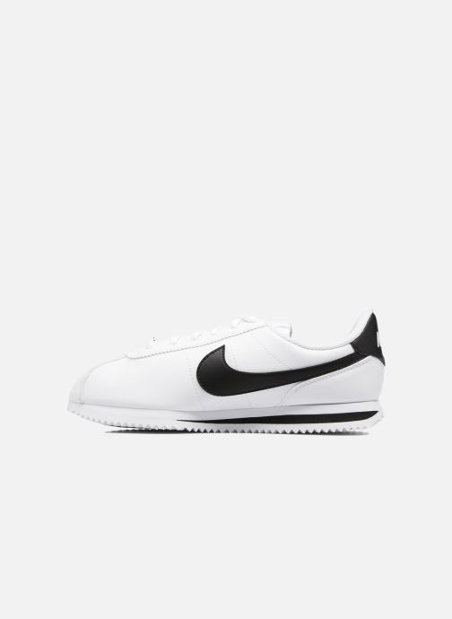 Sneakers Nike Cortez Basic Sl (Gs) Bianco immagine frontale