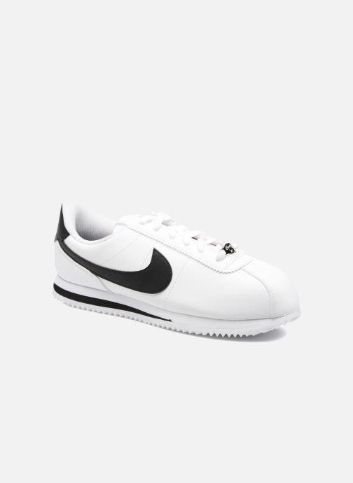 Baskets Nike Cortez Basic Sl (Gs) Blanc vue détail/paire