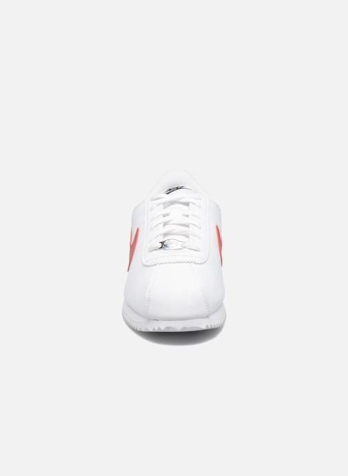 Trainers Nike Cortez Basic Sl (Gs) White model view