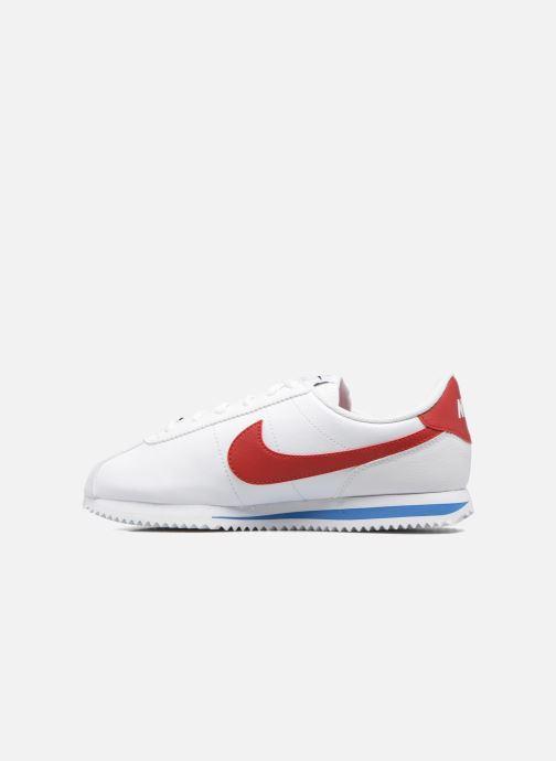 Sneaker Nike Cortez Basic Sl (Gs) weiß ansicht von vorne