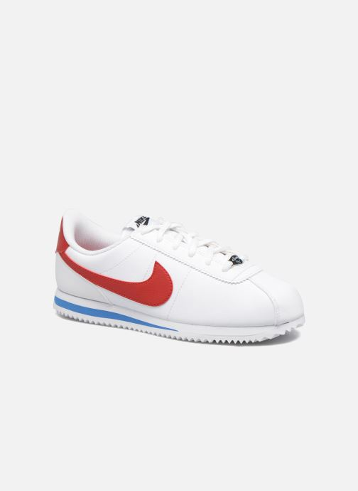 Trainers Nike Cortez Basic Sl (Gs) White detailed view/ Pair view