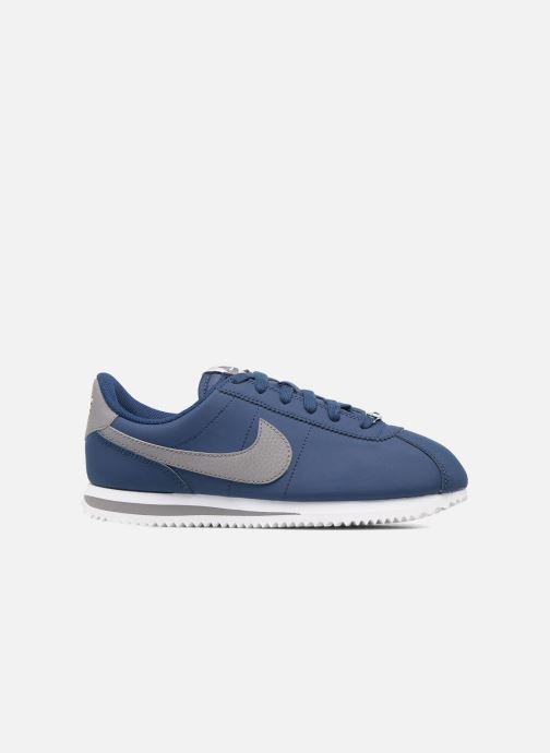 Baskets Nike Cortez Basic Sl (Gs) Bleu vue derrière