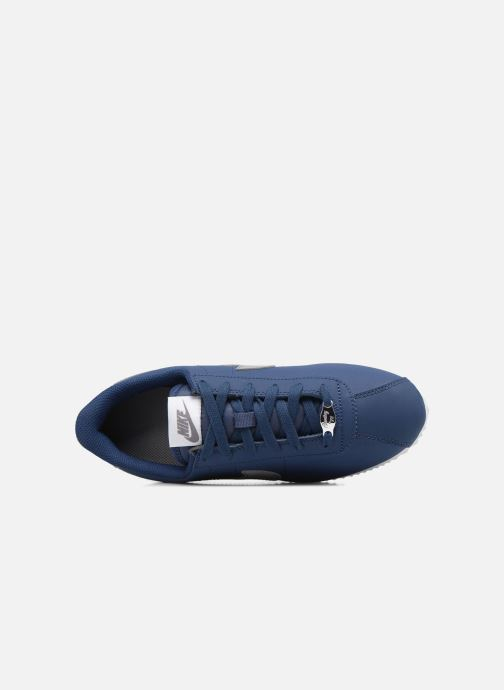 Baskets Nike Cortez Basic Sl (Gs) Bleu vue gauche
