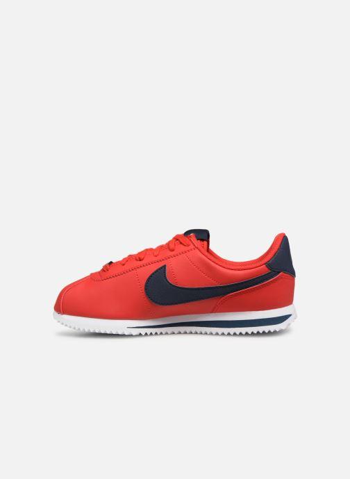 Deportivas Nike Cortez Basic Sl (Gs) Rojo vista de frente