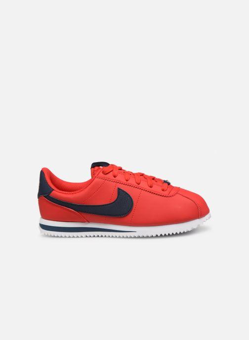 Sneaker Nike Cortez Basic Sl (Gs) rot ansicht von hinten