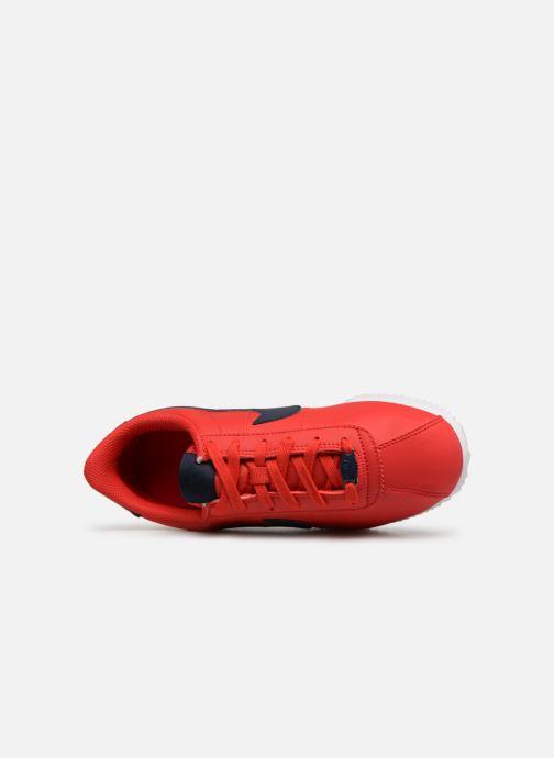 Sneaker Nike Cortez Basic Sl (Gs) rot ansicht von links