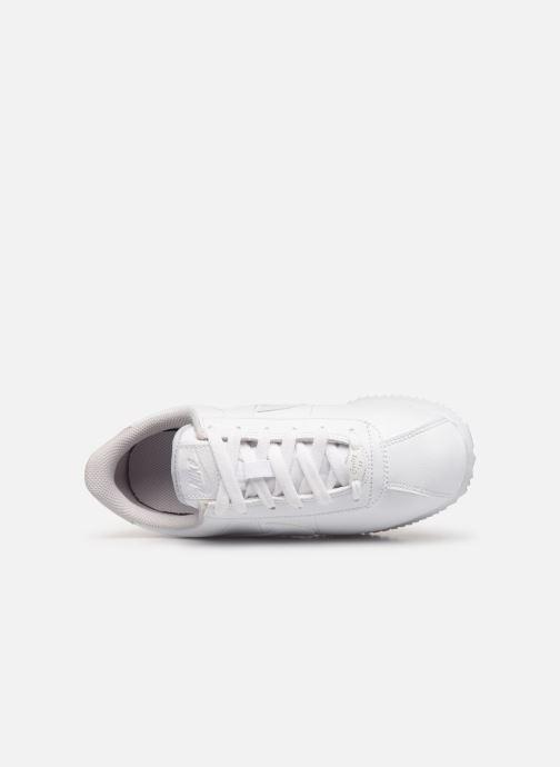 Deportivas Nike Cortez Basic Sl (Gs) Blanco vista lateral izquierda