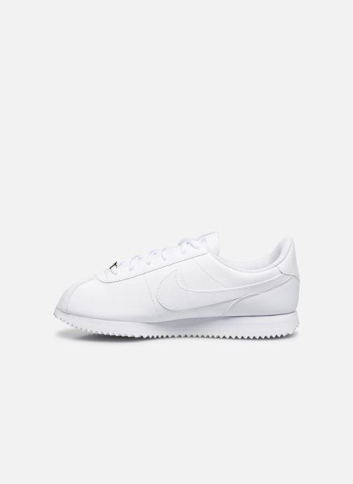 Sneakers Nike Cortez Basic Sl (Gs) Hvid se forfra