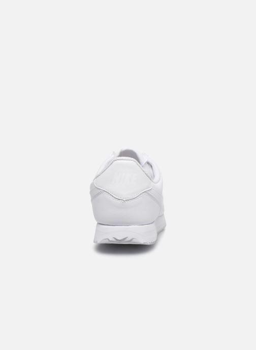 Deportivas Nike Cortez Basic Sl (Gs) Blanco vista lateral derecha