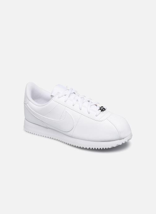 Sneakers Nike Cortez Basic Sl (Gs) Hvid detaljeret billede af skoene