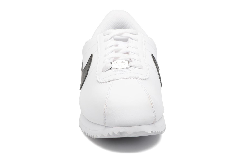 Sneaker Nike Cortez Basic Sl (Gs) weiß schuhe getragen