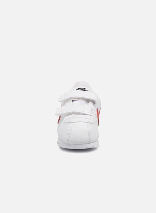 Deportivas Nike Cortez Basic Sl (Tdv) Blanco vista del modelo
