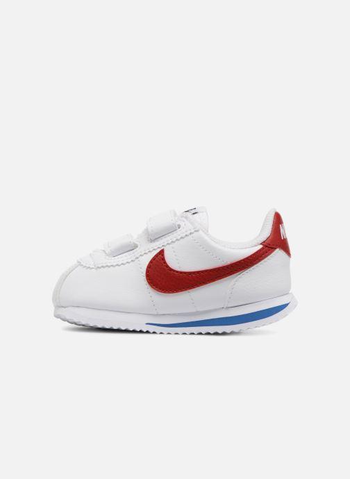 Deportivas Nike Cortez Basic Sl (Tdv) Blanco vista de frente