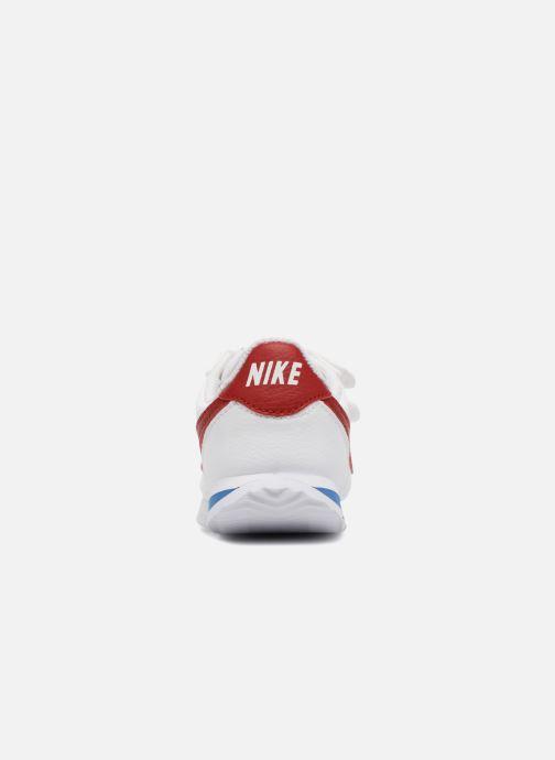 Sneaker Nike Cortez Basic Sl (Tdv) weiß ansicht von rechts