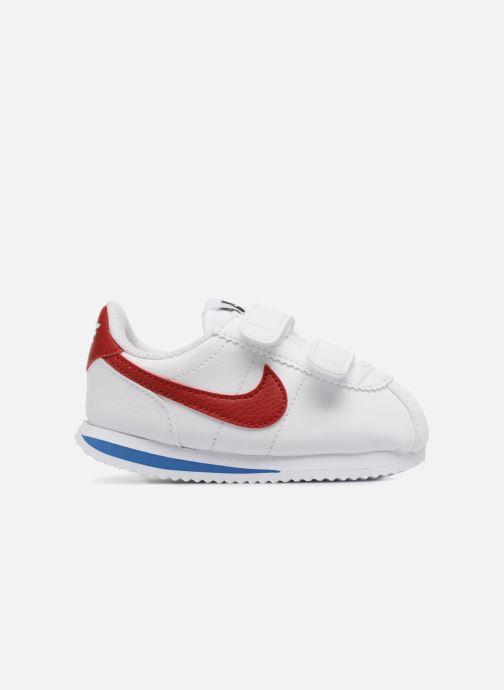 Sneaker Nike Cortez Basic Sl (Tdv) weiß ansicht von hinten