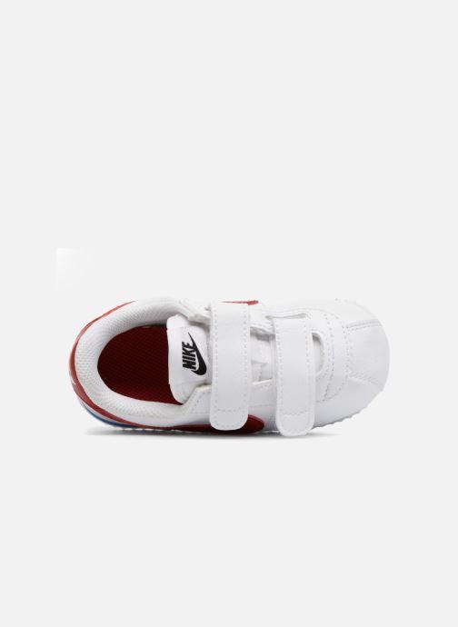 Sneaker Nike Cortez Basic Sl (Tdv) weiß ansicht von links