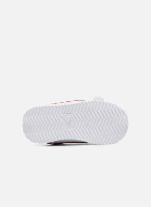 Sneaker Nike Cortez Basic Sl (Tdv) weiß ansicht von oben