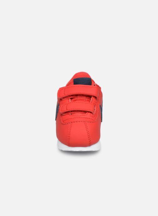 Deportivas Nike Cortez Basic Sl (Tdv) Rojo vista del modelo