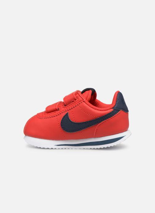 Deportivas Nike Cortez Basic Sl (Tdv) Rojo vista de frente