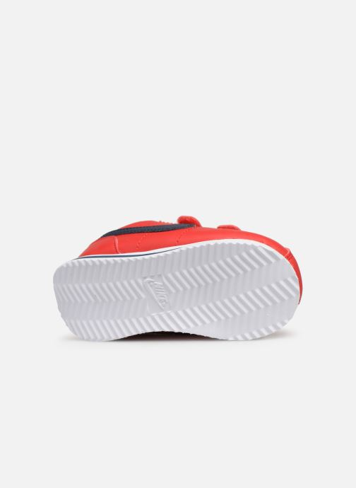 Trainers Nike Cortez Basic Sl (Tdv) Red view from above
