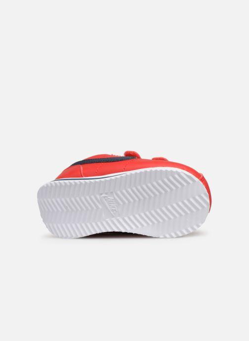Deportivas Nike Cortez Basic Sl (Tdv) Rojo vista de arriba