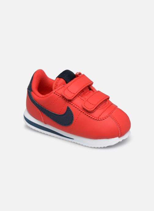 Baskets Nike Cortez Basic Sl (Tdv) Rouge vue détail/paire